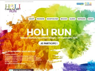 Course à Rennes, Holi Run, Course à pied