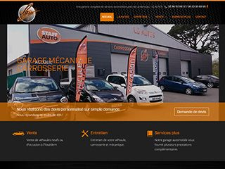 Cr ation de site internet pour garage automobile webgazelle for Comment ouvrire un garage automobile