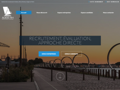 Cr ation de site internet pour cabinet de recrutement webgazelle - Cabinet de recrutement angers ...