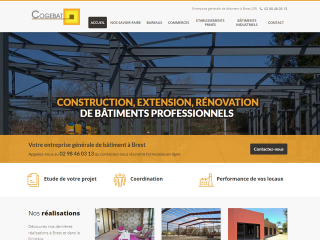 construction de bâtiment, extension, rénovation, bâtiment professionnel, Brest