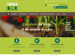 analyse terre, jardinier, particuliers