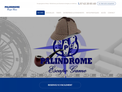 Palindrome, escape game à Nîmes dans le Gard (30)