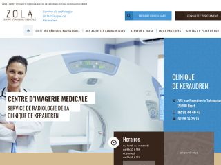 imagerie, cabinet, médical, radiologie, centre, zola